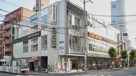 5.TSUTAYAの交差点